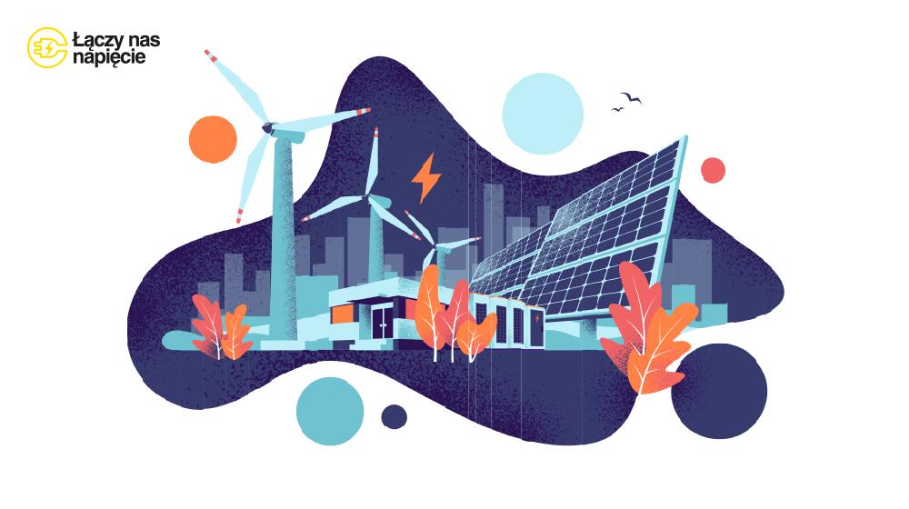 Elektrownia domowa – jak działa elektrownia słoneczna w domu i jak ją zbudować? Infografika interaktywna