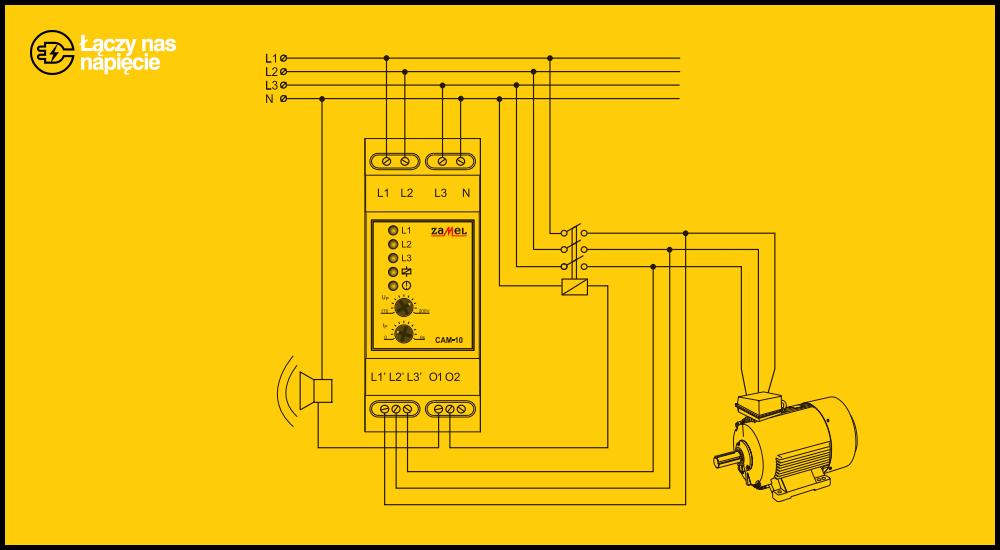 Czujniki kolejności faz i czujniki asymetrii napięcia w obwodach trójfazowych – na co zwrócić uwagę przy wyborze urządzenia?