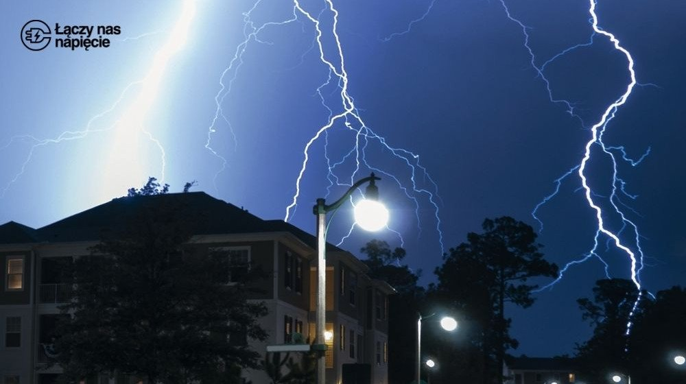 Lampy uliczne LED a ochrona przed przepięciami w sieci zasilania